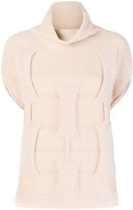 Cruciani roll neck knit jumper