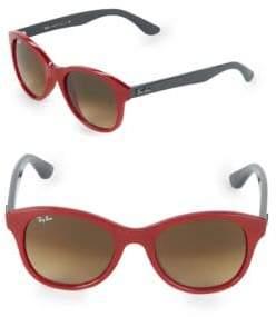 Ray-Ban 51MM Nylon Round Sunglasses