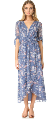 Ella Moss Dreamer Silk Wildflower Dress $268 thestylecure.com