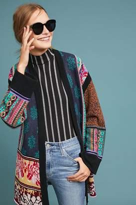 Akemi + Kin Patchwork Kimono Cardigan