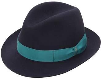 Borsalino Trilby Medium Brim Fur Felt Hat