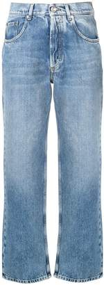 Maison Margiela high-waist straight leg jeans