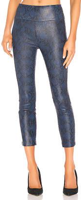 SPRWMN Leather High Waist Crop Legging
