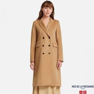 Uniqlo WOMEN IDLF Wool Blended Coat