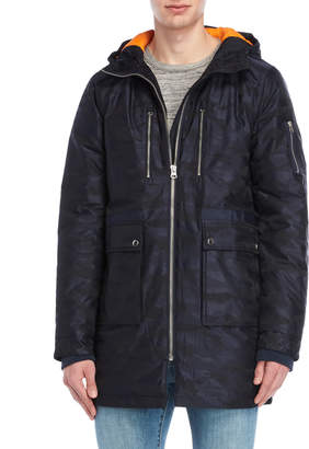 Slate & Stone Greg Hooded Long Parka