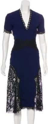 Jonathan Simkhai Short Sleeve Midi Dress