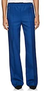Prada Women's Tech-Gabardine Wide-Leg Pants - Blue