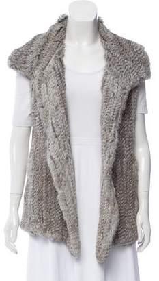 Calypso Kiesza Fur Vest w/ Tags
