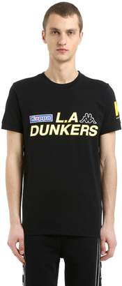 Kappa Kontroll Dunkers Cotton Jersey T-Shirt