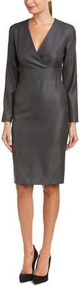 Max Mara Wool & Silk-Blend Sheath Dress