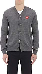 Comme des Garcons Men's Wool Cardigan - Gray