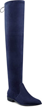 Marc Fisher Humor Over-The-Knee Boots Women's Shoes $129 thestylecure.com