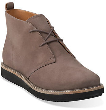 Clarks Clarks Glick Willa Lace-Up Booties