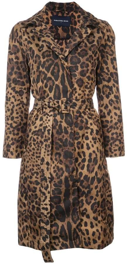 Parisseinne leopard print coat