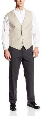 Perry Ellis Men's Big-Tall Texture Suit Vest