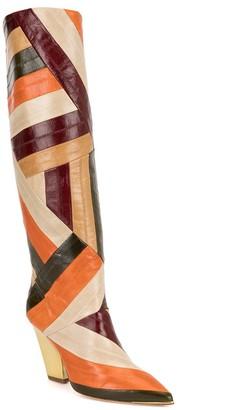 Tory Burch Lila 90mm knee-high boots