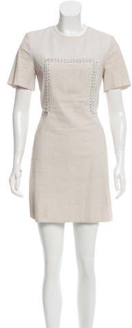 3.1 Phillip Lim3.1 Phillip Lim Eyelet-Accented Mini Dress