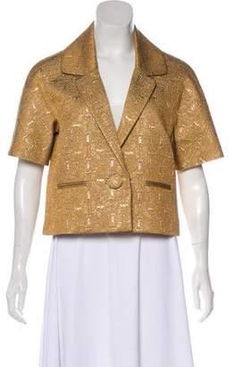 Chloé Silk Crop Jacket