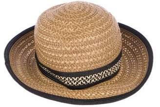 Eric Javits Raffia Fedora Hat