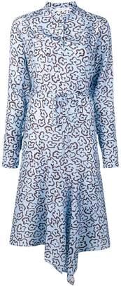 Christian Wijnants Domi leopard print dress