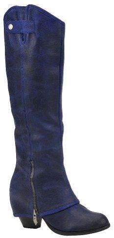 Fergie Women's Ledger Too Boot,Indigo,9 M US