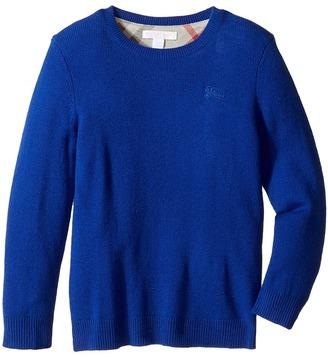 Burberry Kids - Mini Durham Sweater Boy's Sweater $195 thestylecure.com