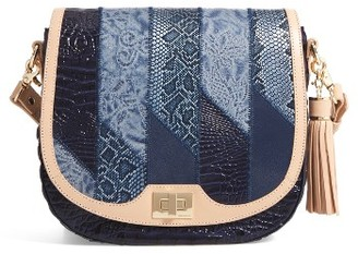 Brahmin Sonny Crossbody Bag - Blue $345 thestylecure.com