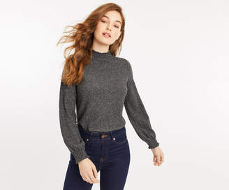 Oasis HIGH NECK SHIRRED TOP