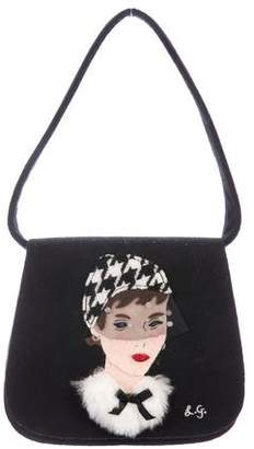 Lulu Guinness Fashionista Shoulder Bag
