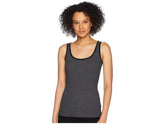 Lauren Ralph Lauren Ribbed Stretch Cotton Tank Top