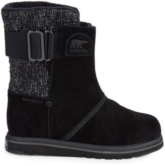 Sorel Rylee Waterproof Faux Fur Suede Boots