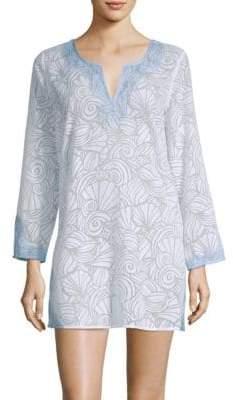 Vineyard Vines Nautilus Shell T-Shirt Dress