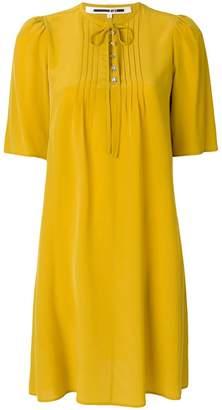 McQ pleated detail dress
