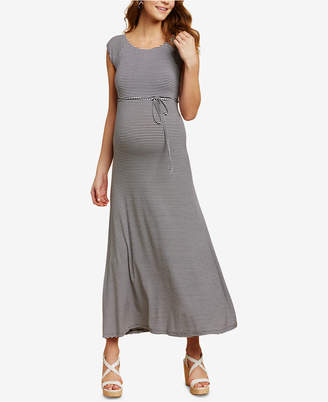 b065cea2f1f Jessica Simpson Maternity Cap-Sleeve Maxi Dress