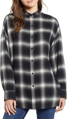 Hudson Jeans Oversize Flannel Shirt
