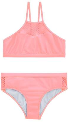 Seafolly Girls Summer Essentials Mesh Crop Set
