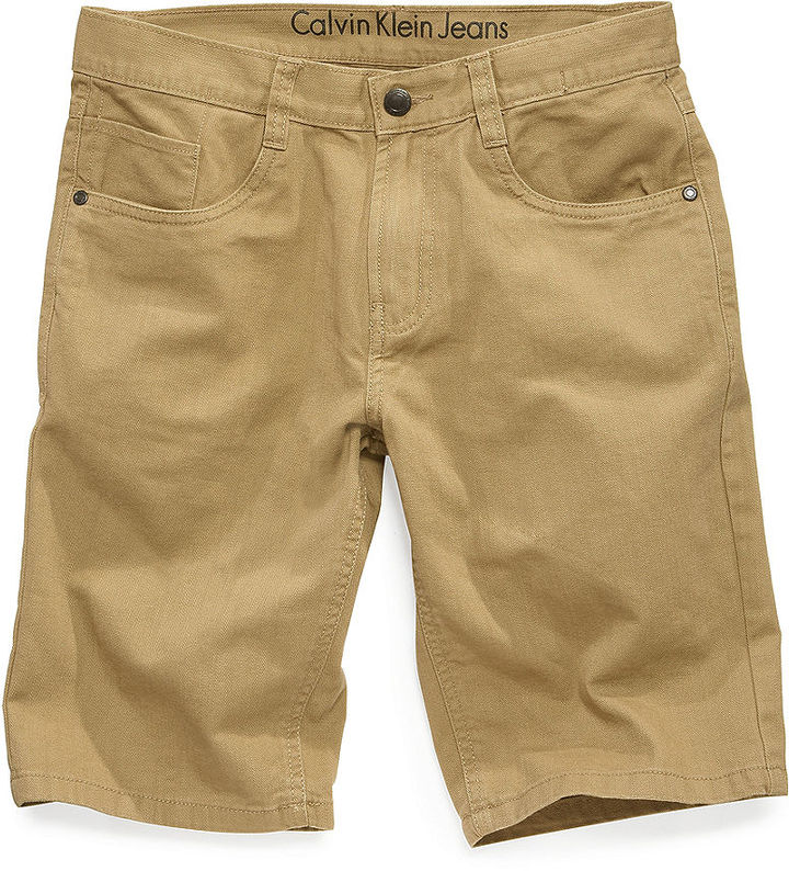 Calvin Klein Jeans Kids Shorts, Little Boys Be Colored Shorts