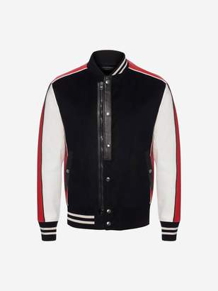 Alexander McQueen Embroidered Varsity Jacket