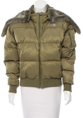 The North Face Quilted Puffer Coat $200 thestylecure.com
