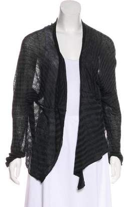 Ann Demeulemeester Cropped Open Front Cardigan