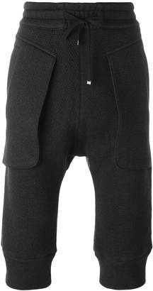 Helmut Lang cropped trousers
