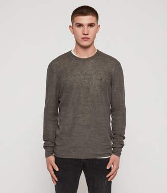 AllSaints Tarn Linen Crew Sweater