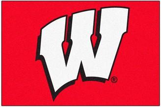 NCAA Fanmats FANMATS Wisconsin Badgers Rug