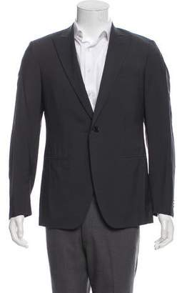 Caruso Deconstructed Wool & Silk-Blend Blazer