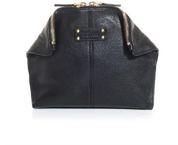 Alexander McQueen De Manta leather cosmetic bag