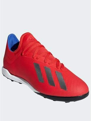 wholesale dealer a5631 611a3 adidas Mens X 18.3 Astro Turf Football Boot