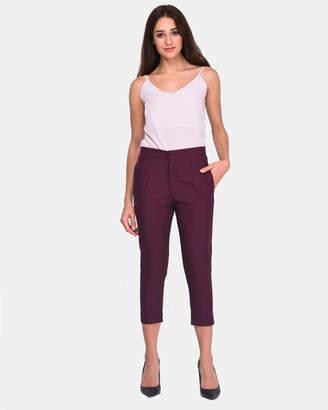 Super Skinny 3/4 Linen Pants