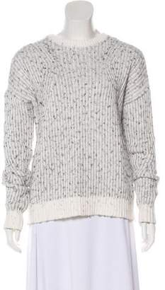 Barneys New York Barney's New York Crew Neck Knit Sweater