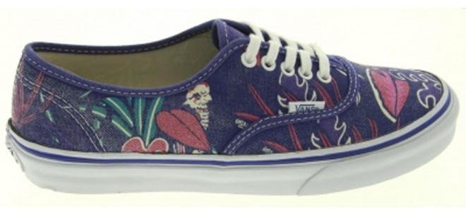 Vans Authentic Slim Sneaker in Print