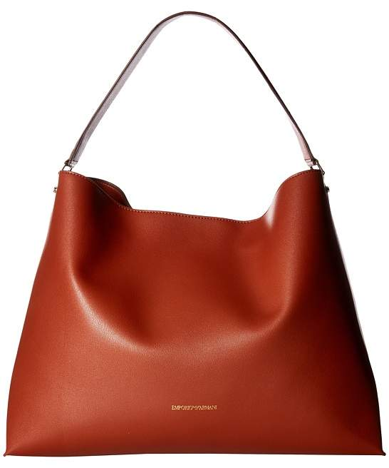 Emporio Armani - Eco Leather Hobo with Wallet Handbags